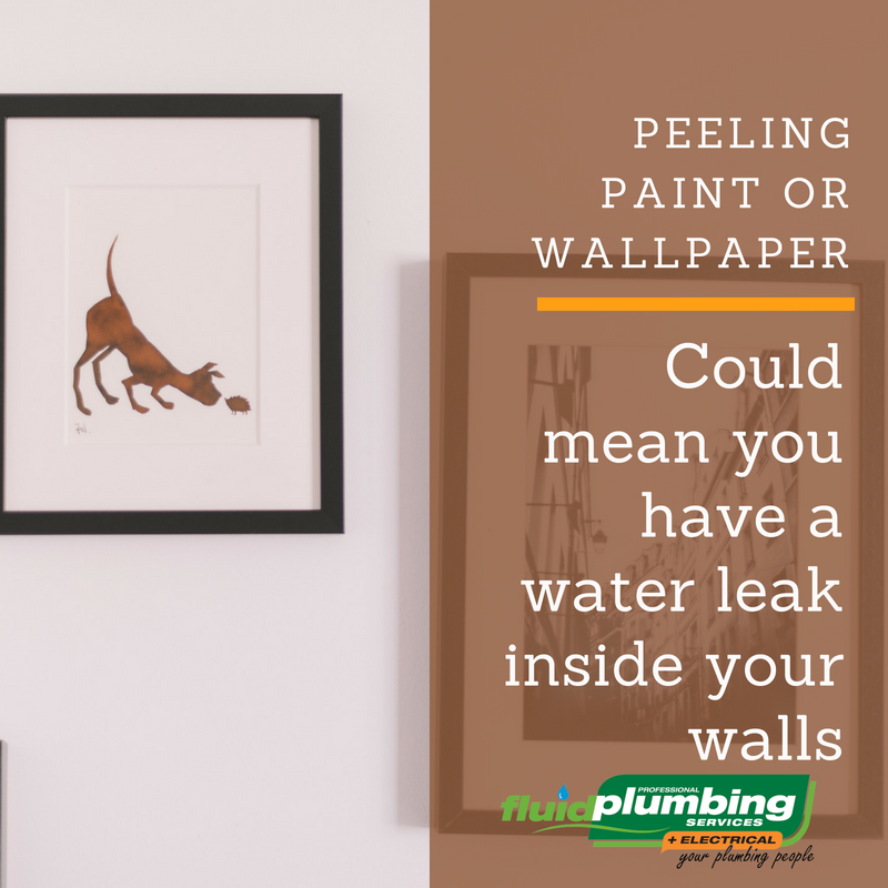 there are a few signs you can look out for to judge if could have an internal leak like; peeling paint or wallpaper on your walls