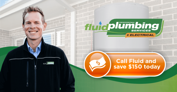 150 Dollars Off Installation of a New Hot Water System