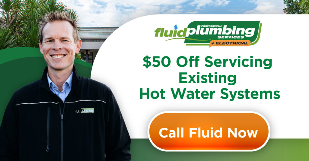 $50 off Servicing Existing Hot Water Systems